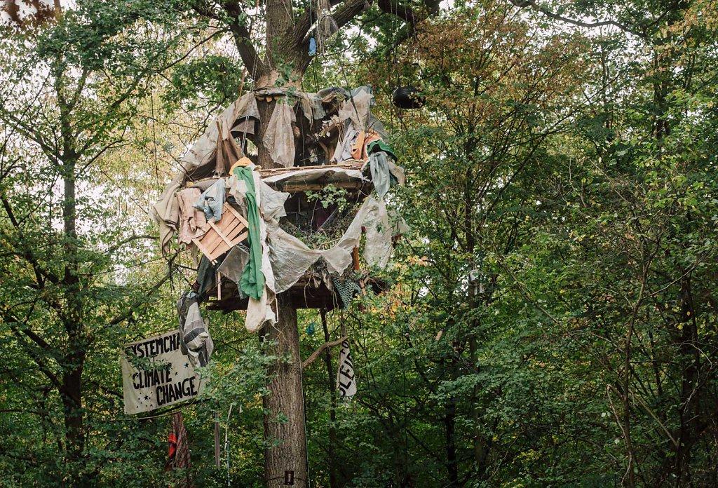 Hambacher Forst evection 2018
